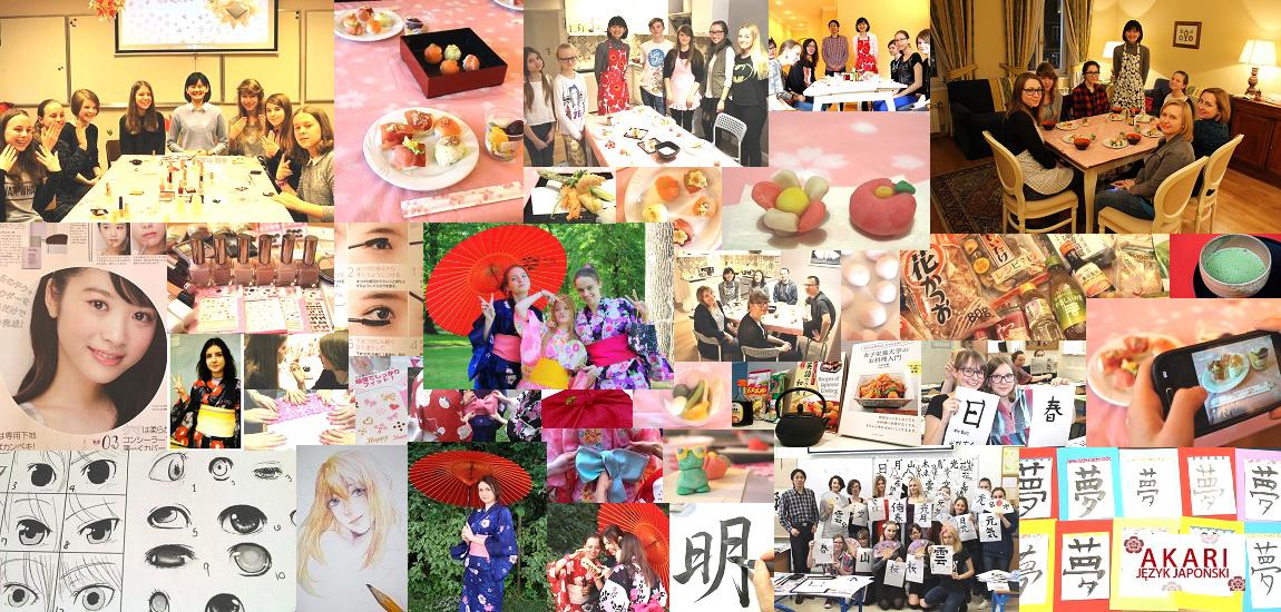 Warsztaty kultury japońskiej AKARI Nauka języka japońskiego i tłumaczenia