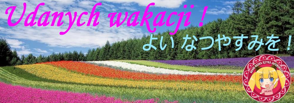 Jezyk Japonski Natsuyasumi